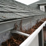 clogged gutter home service
